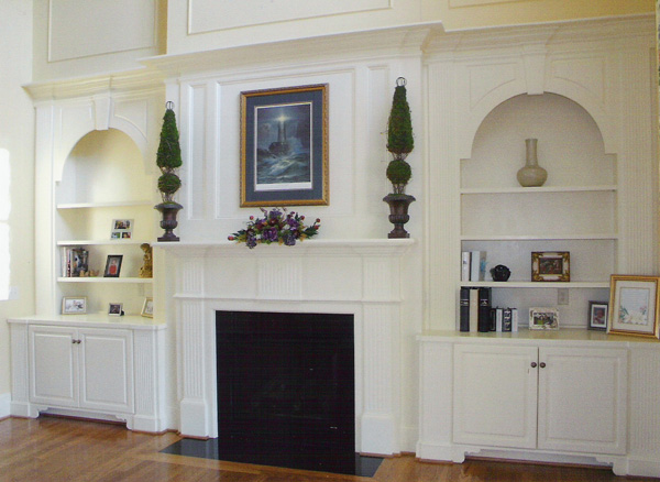 fireplace-and-bookcases